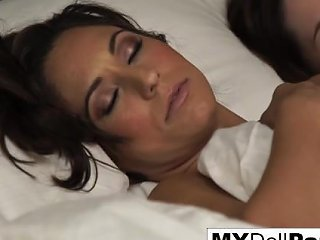 Jenna J Ross Brings Reena Sky Breakfast In Bed