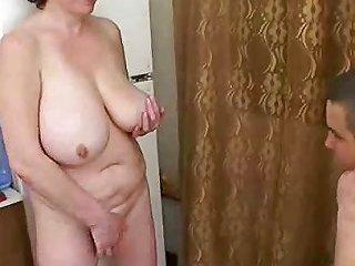 Mature Russian Seduces Fat Boy Free Russian Mature Porn Video